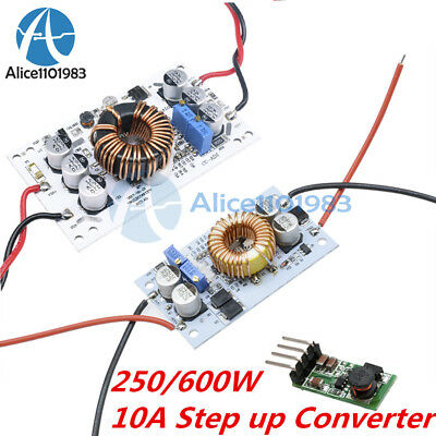 250600w 10a Step Up Dc Boost Converter Constant Current Power Supply Led Driver
