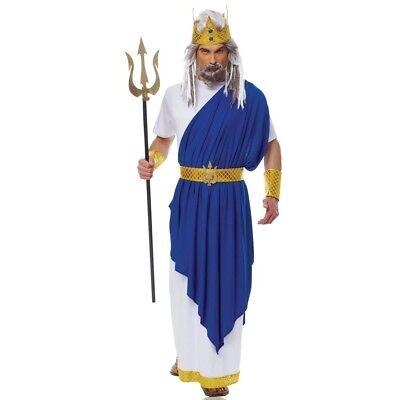 Neptune Adult Costume Poseidon Atlantis King Greek God Of Sea Mythology Triton (Greek God Costumes)