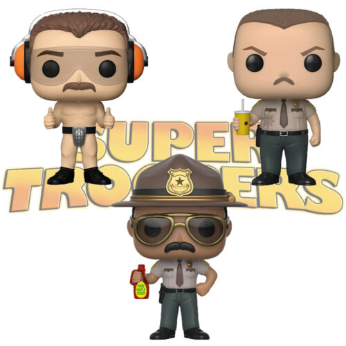 Official Super Troopers Mac Farva Ramathorn Funko Pop Vinyl Figure Collectables