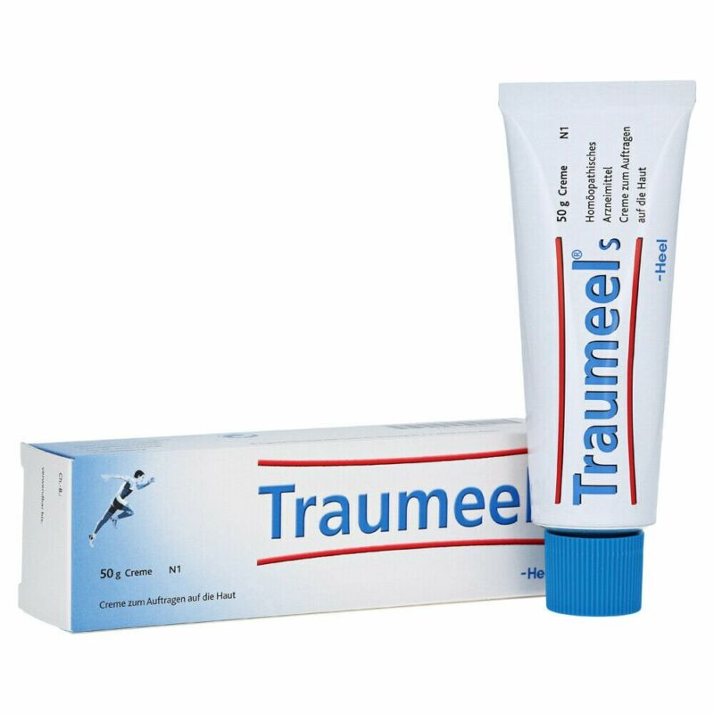 Traumeel S 50g Homeopathic Ointment Anti-Inflammatory Pain Relief Cream USA NEW