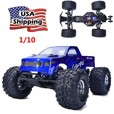 HSP Off Road 1/10 RC Car Motor Monster Truck RTR Electric Power 2.4Ghz Brushless