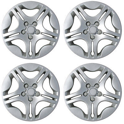 Set of 4 Hubcaps Fits 04-08 Chevrolet Malibu 15