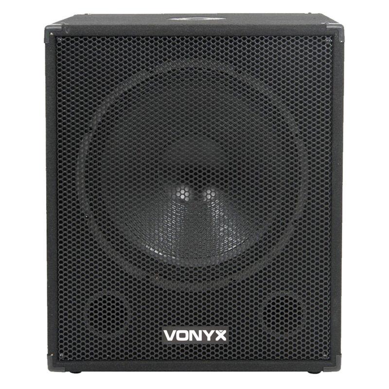 Vonyx 170.798 18 Inch Active DJ Subwoofer 1000W