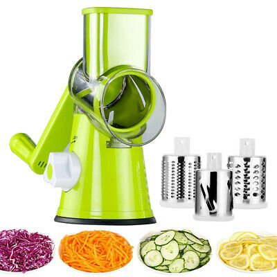 Multifunction Manual Round Vegetable Cutter Slicer Grater