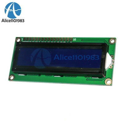 Lcd1602 3.3v Blue Backlight 162 Lines White Character Lcd 1602a F Raspberry Pi