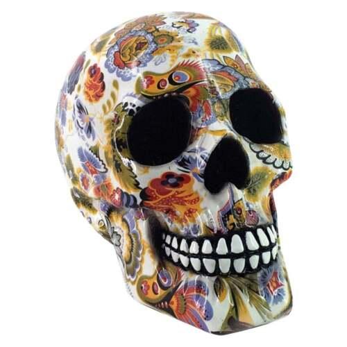 Nemesis Skull Ornament Avant-Garde White 19cm