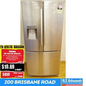 Samsung 528L French Door Fridge with Warranty Booval Ipswich City Preview
