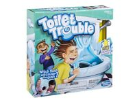 NEW Hasbro Gaming Toilet Trouble Game