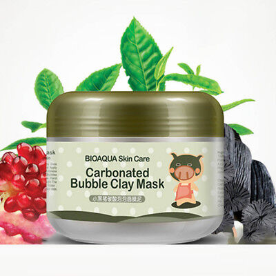 Black Pig Mask (Black Pig Carbonated Bubble Clay Mask Deep Cleaning Moisturizing Skin)