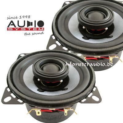 Audio System CO100 EVO 10cm Auto Lautsprecher 2-Wege-Koax PKW Boxen 220 Watt ()