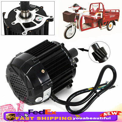1000w Motor Electric Brushless Dc48v Tricycle Motor Kit 48v-60v 300rpm 25-30hkm