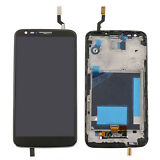 Full Replacement Touch Screen Digitizer + LCD Display with Frame For LG G2 D800