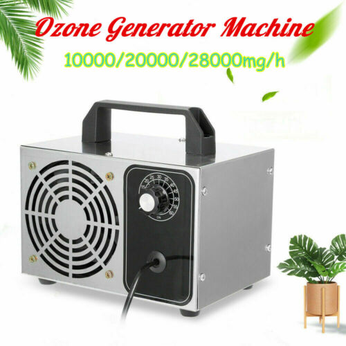 10000/20000/28000mg/h Ozone Generator Machine Commercial Pro Air Purifier 110V