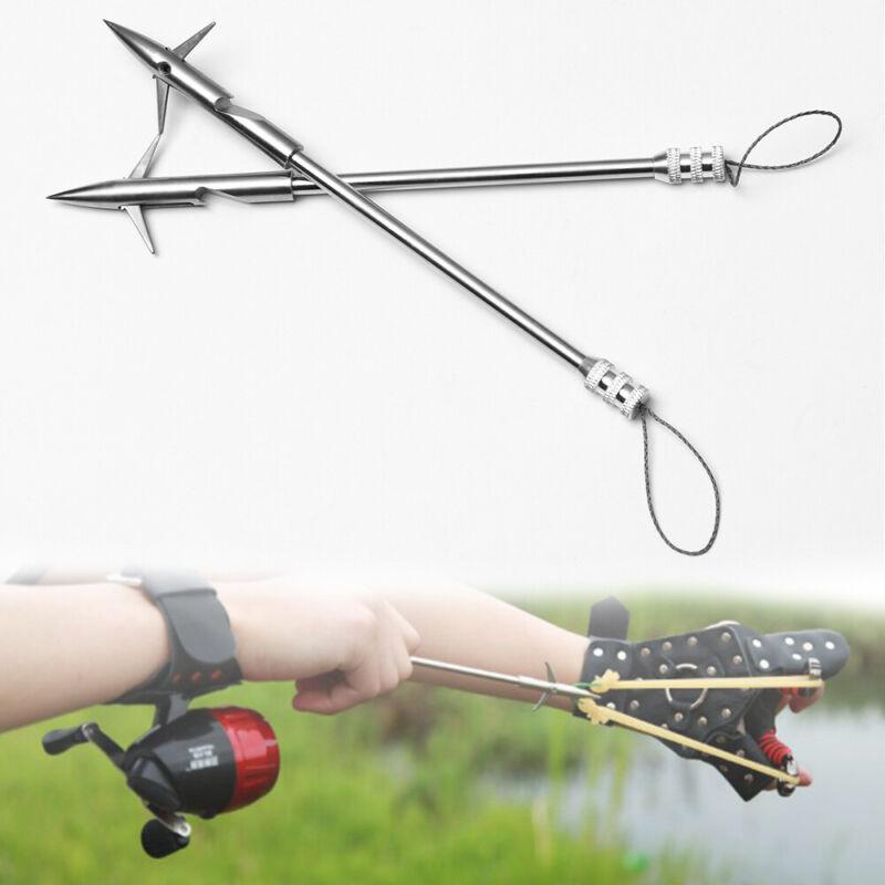Steel Arrow Head Arrow Fishing Catapult Shooting Fish Hunting Slingshot