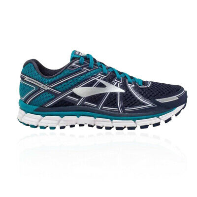 Brooks Mens Defyance 10 Running Shoes Trainers Sneakers Blue Navy Sports