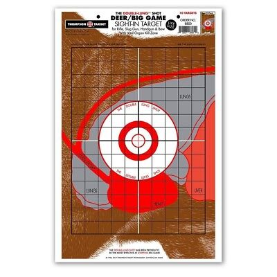 Thompson Target | Life-Size Deer Vitals Hunting Shooting 12.5