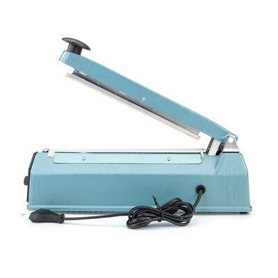 8 Electric Heat Sealer Poly Bag Machine Teflon Sealing Shrink Wrap For Food