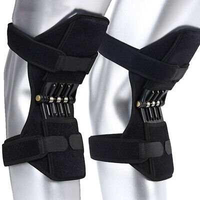 1Pair Power Joint Support Knee Pads Powerful Rebound Spring Force (Power Joint)