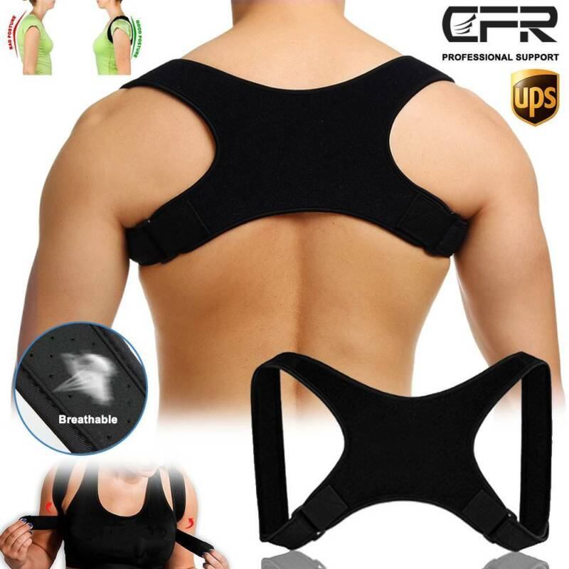 Posture Corrector Back Support Brace Clavicle Upper Neck Pai
