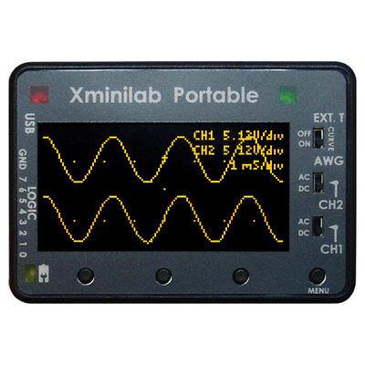 Gabotronics Gt-0015 Xminilab Portable Small Mixed Signal Oscilloscope 2.42 Oled