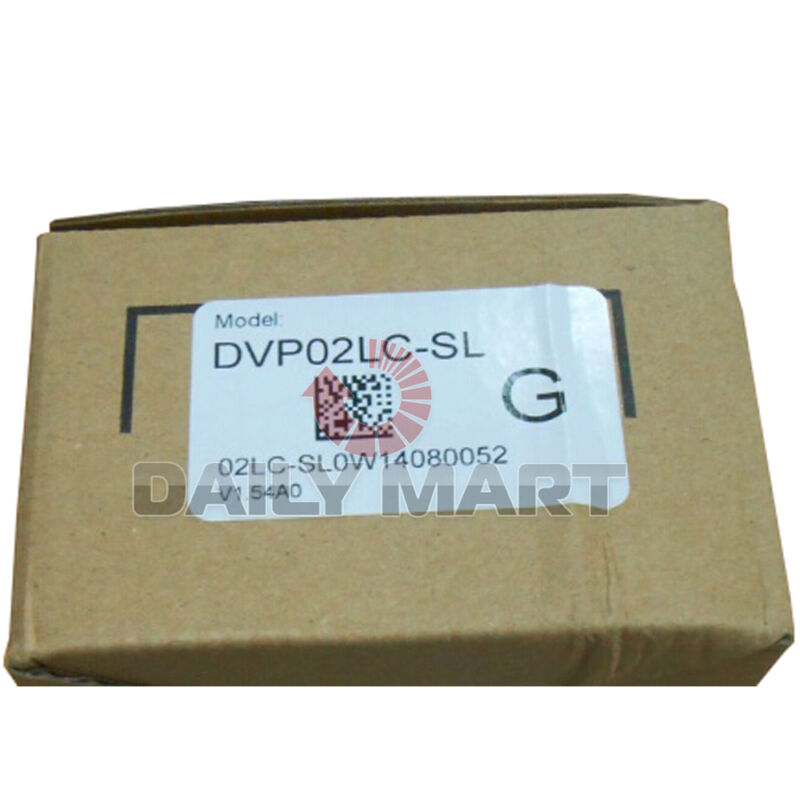 New in Box Delta DVP02LC-SL Load Cell Module for SV/EH2-L MPU Ext.