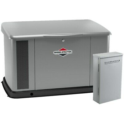 Briggs Stratton 20kw Aluminum Standby Generator System 400a Split Service ...