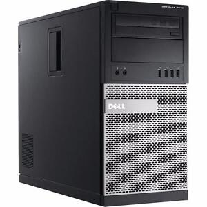 2012 Dell OptiPlex 7010 Mini Tower Intel Core i5 3rd-Gen up to 3.80GHz up to 2TB HDD Radeon Windows 7/10 Pro