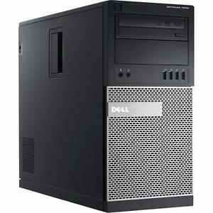 2012 Dell OptiPlex 7010 Mini Tower Intel Core i5 3rd-Gen up to: 3.80GHz 32GB 4TB HDD Radeon Windows 7/10 Pro
