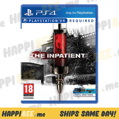 Sony Playstation VR•THE INPATIENTVideo Game Virtual Reality PS4 Headset Consol