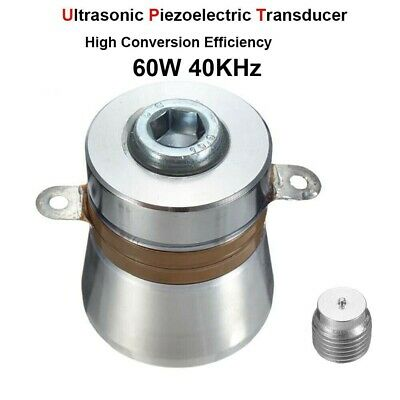 60w 40khz Ultrasonic Cleaner Piezoelectric Cleaning Transducer High Efficiency