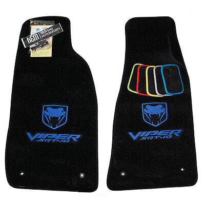 2003 - 2010 Dodge Viper Floor Mats - SRT-10 SRT10 - IN STOCK - VIPER BLUE