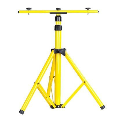 Tripod Stand W/ T Bar For LED Flood Light Camp Construction Site Work Lighting