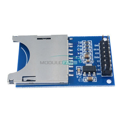 Sd Card Module Slot Socket Reader Adapter For Arduino Arm Mcu