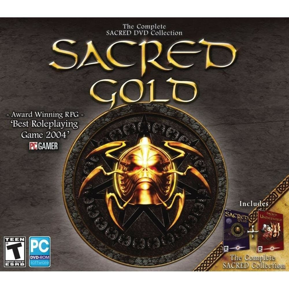 Computer Games - Sacred Gold PC Games Windows 10 8 7 XP Computer sacred underworld expansion NEW