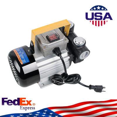 Profession 110v Ac 60lmin 550w Oil Diesel Fuel Transfer Pump Self Priming Usa