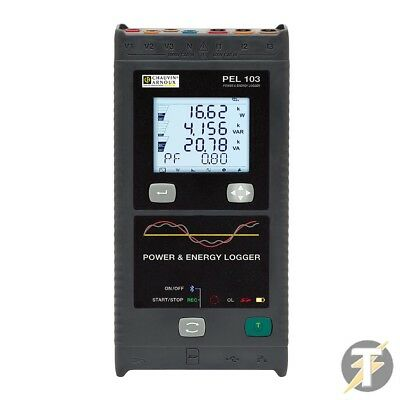 Chauvin Arnoux Pel103 Power And Energy Logger Plus Custodia And Leads