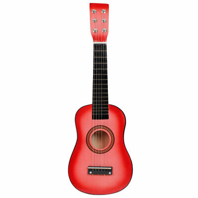 """23"""" Plywood Acoustic Mini Guitar 6 String for Kids Beginners Practice NEW"""