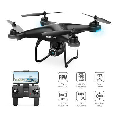 Faithful stone HS120D FPV GPS drone with 1080P camera RC quadcopter selfie APP Gift