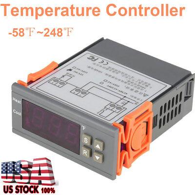 12v Digital Temperature Controller Thermostat Aquarium Control Heating Colling