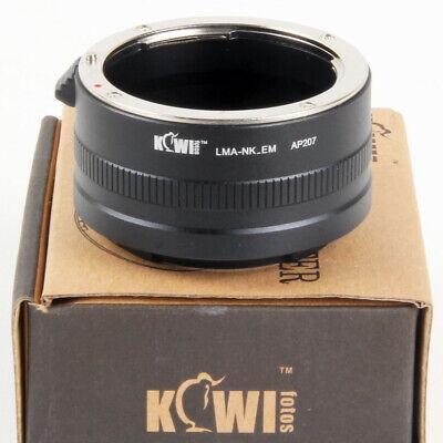 Kiwifotos Adaptador Objetivos Nikon en Cámaras Sony NEX-6 NEX-7