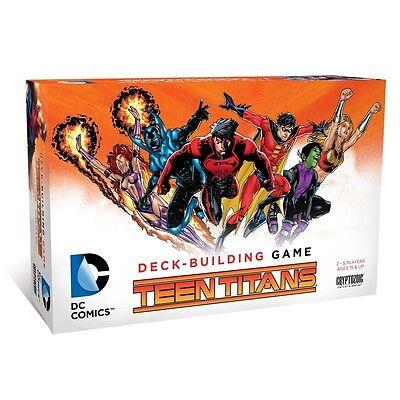 DC Comics Deck-Building Teen Titans Game New Sealed