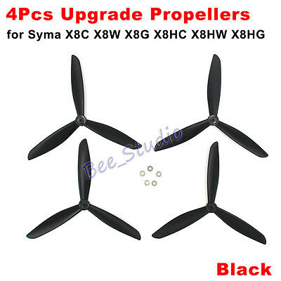 SYMA X8C X8W X8G X8HC X8HW X8HG RC Drone Upgrade 3ladies' man Propeller Spare Parts B