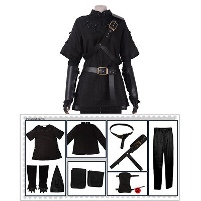 The Legend of Zelda Dark Link Cosplay Costume Fancy Dress Outfit Fullset](Zelda Link Costume)