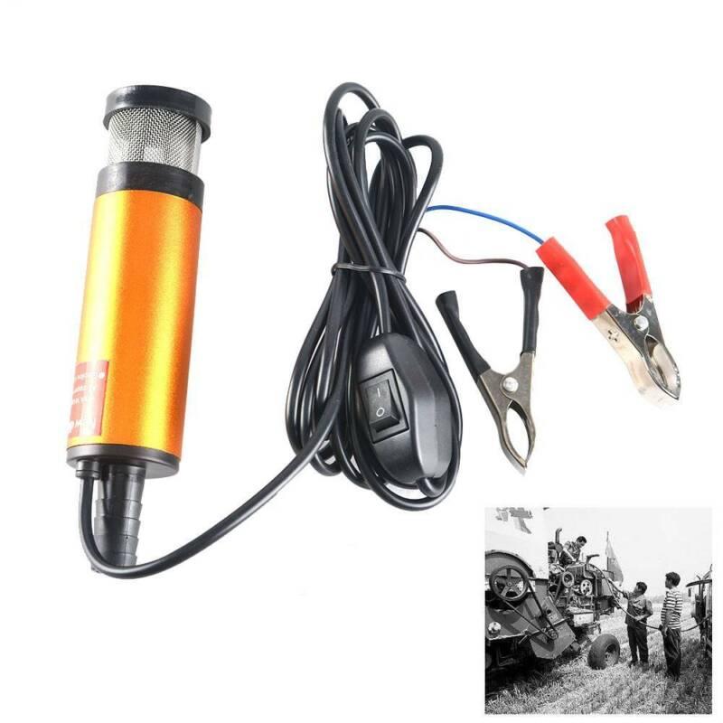 Tauchpumpe 12V 38mm12L/min Schmutzwasserpumpe Diesel Drucktauchpumpe Edelstahl