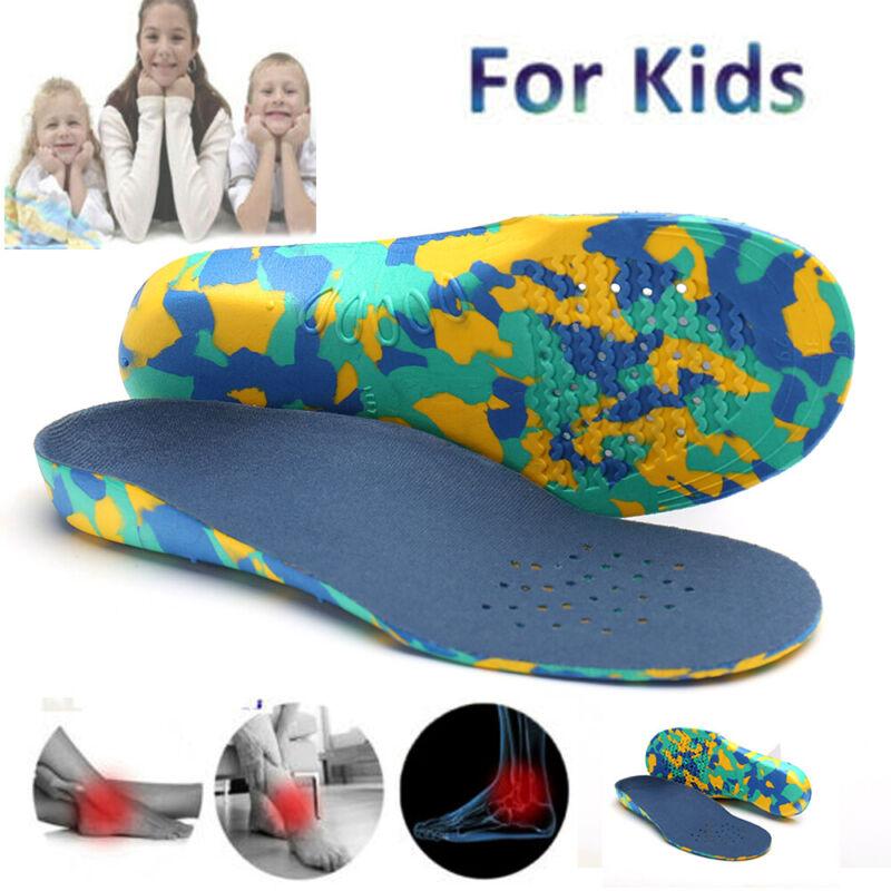 kids children shoe insoles flat feet arch