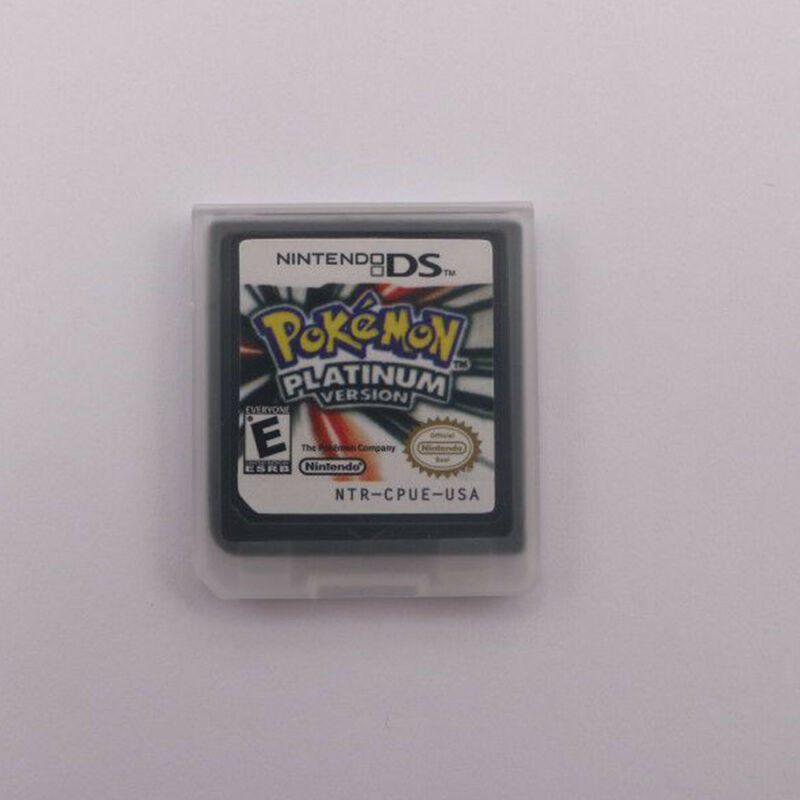 HOT Pokemon Platinum Version Game Card for 3DS NDSI NDS NDSL Lite New