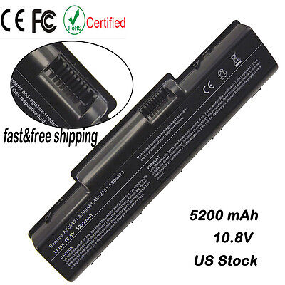 6 Cell Battery for Acer Aspire 4732 5332 5516 5517 5532 AS09A31 AS09A41 AS09A61