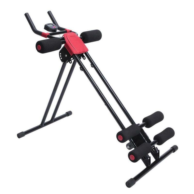 Ab Cruncher Abdominal Trainer 5 Minute Shaper Body Waist Glider Machine Exercise