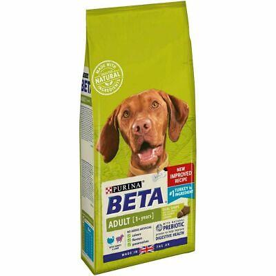 Beta adult turkey + lamb 2 kg complete dog food - new imporved recipe