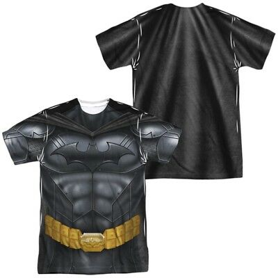 Authentic Batman Costume (Authentic Batman Athletic Costume Uniform Allover Front Back Sublimation)